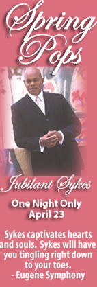 Spring Pops - Jubilant Sykes April 23