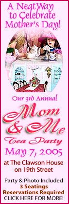 Join our 3rd Annual Mother Daughter Tea!