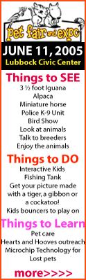 Pet Fair, June 11