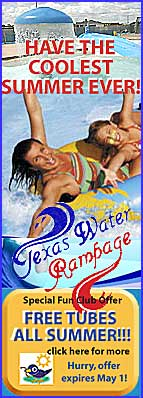 Have the Coolest Summer Ever! - Texas Water Rampage
